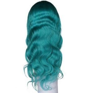 Teal Lacefront Wig